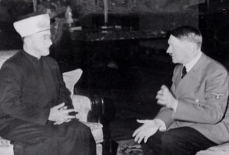 Husseini con Hitler el 20 de noviembre de 1941