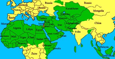 israel mapa Borrar a Israel del mapa | El Rejunte.il israel mapa